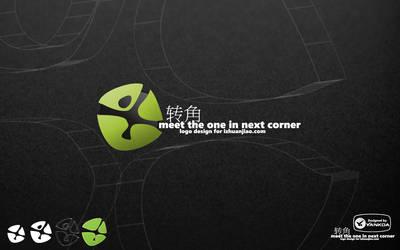 Corner logo design