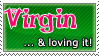 Virgin... Stamp by Erameline