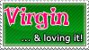 Virgin... Stamp by Erameline