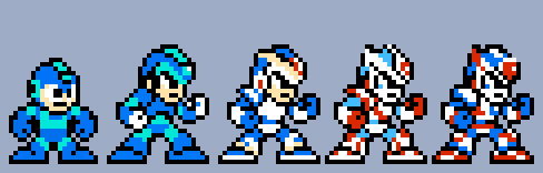 Megaman and Megaman X - Demake by UltraPlus65