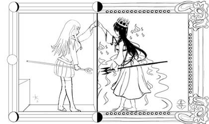 Magical Girls of Light And Shadow