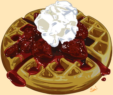 Yeahoo- Waffles by Eveeoni