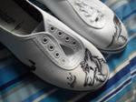 Custom shoes -IN PROGRESS- by Alpha-Works