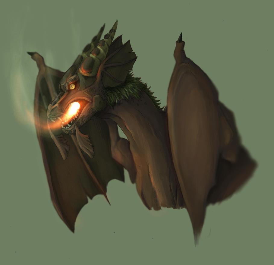 Earth Dragon by dark-reign