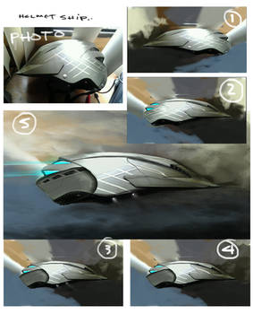 Ship Helmet steps