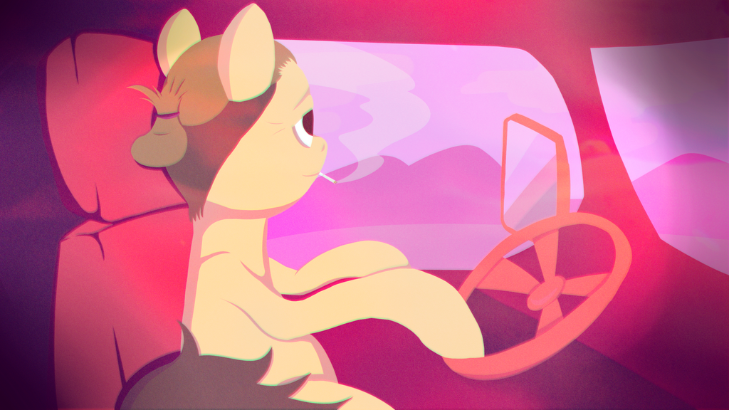 A ride of a pony by Antomarsi