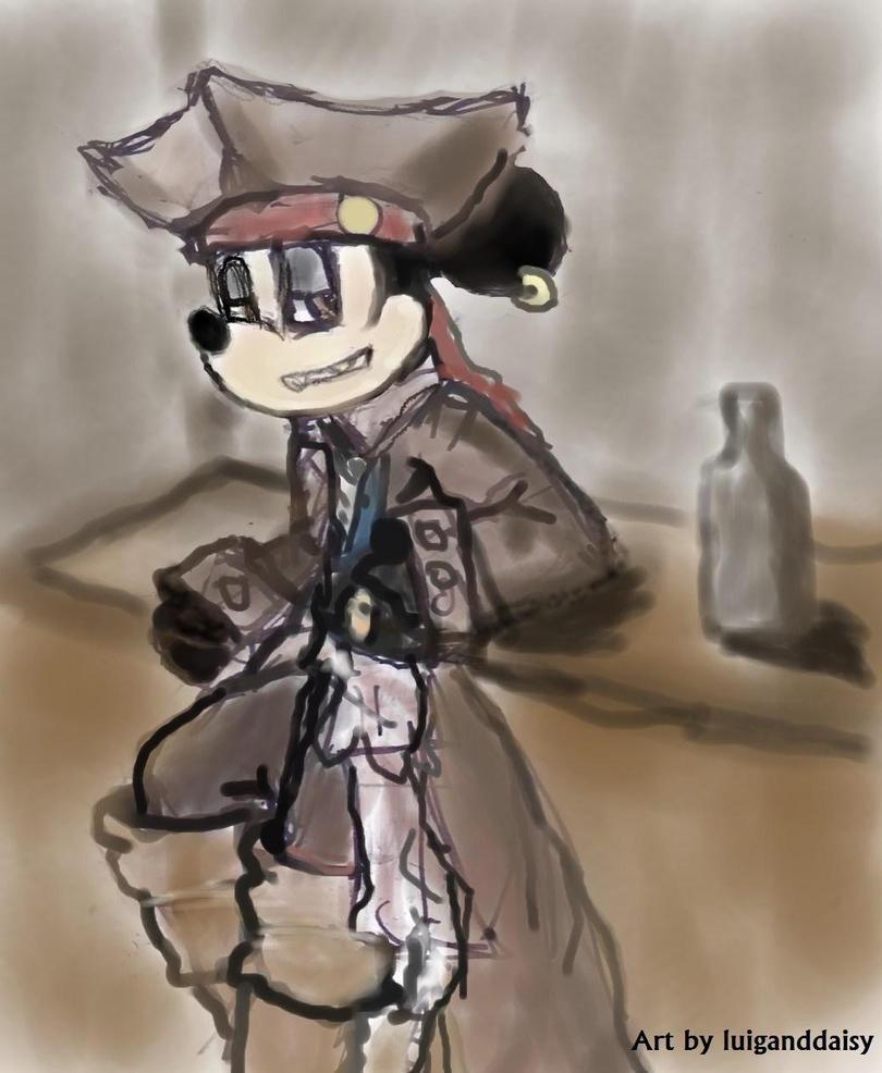 Mickey Sparrow by luiganddaisy