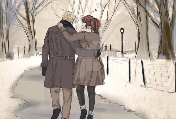 Winter walk by luiganddaisy