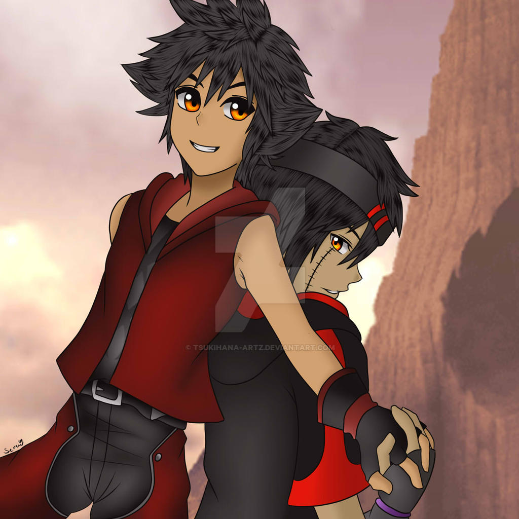 [Kingdom Hearts RPG] Vanitas X Keisuke By Tsukihana-Artz