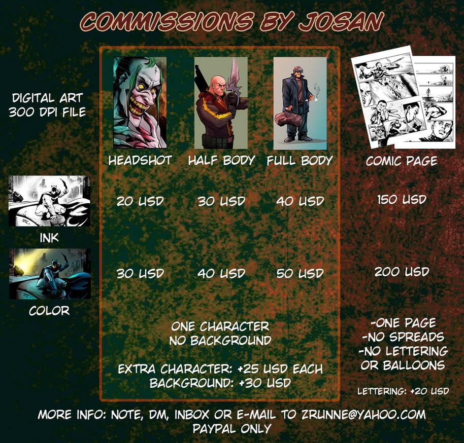 Josan Commissions