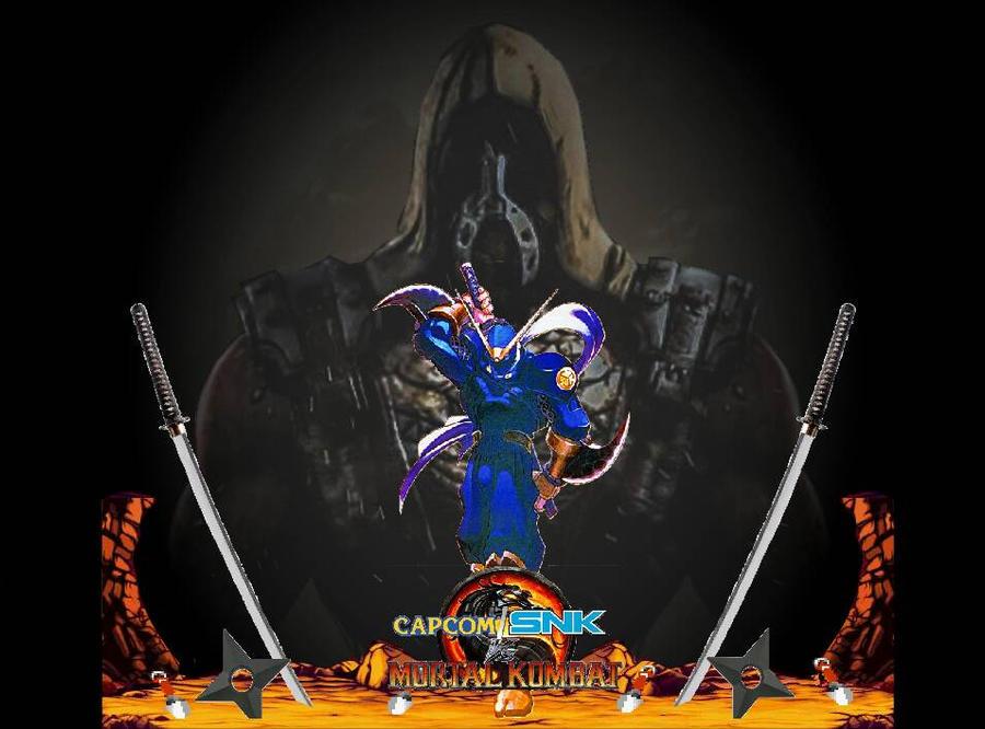 Capcom/SNK vs Mortal Kombat-Steel Meets Stone  by ArtMaster09