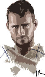 CM Punk Painting by Jammy31