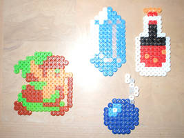 Perler Link by NES--still-the-best