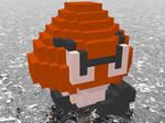3D Nintendo Goomba