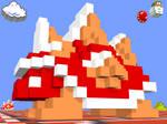 3D Nintendo Spiny + Lakitu