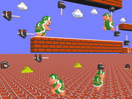 3D Nintendo SMB Hammer Bros by NES--still-the-best
