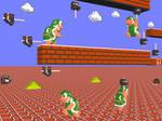 3D Nintendo SMB Hammer Bros