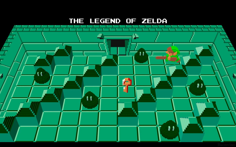 3D Nintendo Zelda by NES--still-the-best on DeviantArt