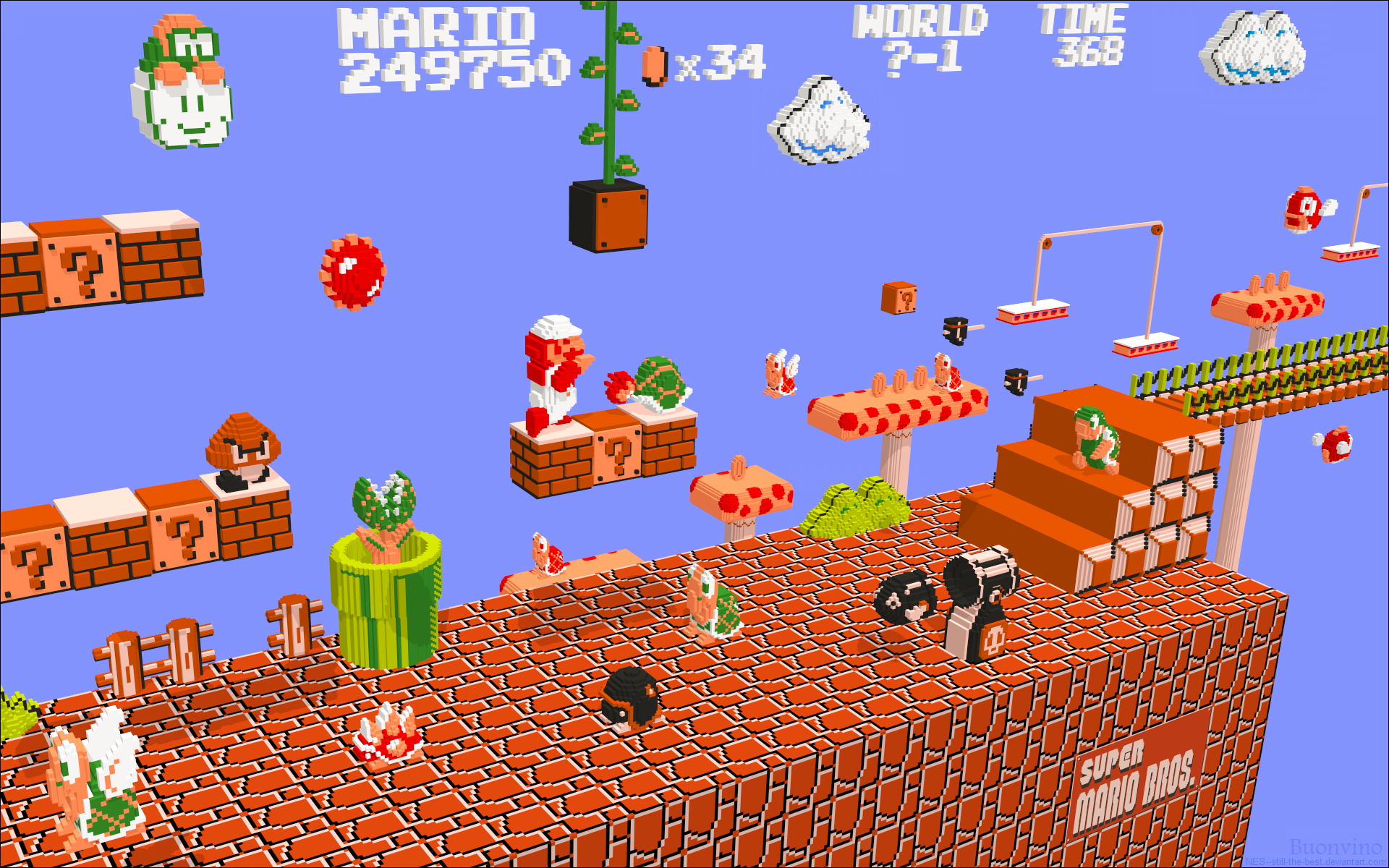 Nintendo 3D Mario by NES--still-the-best
