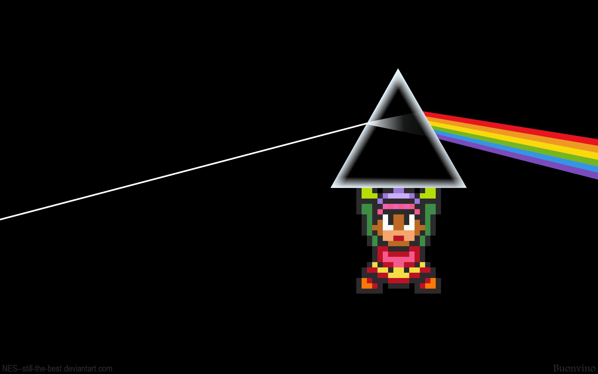 Dark Side of the Moon Zelda