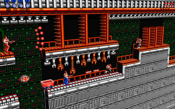 3D Contra by NES--still-the-best