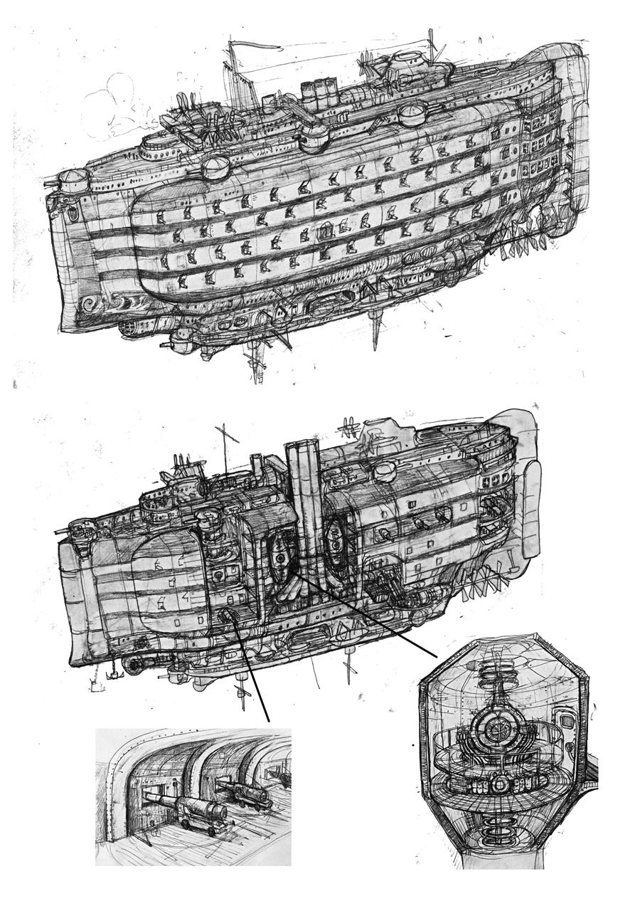 pick holes in popular ship designs