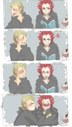 You have something on your face by Tanaka-Tarou