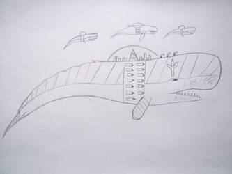Paraworld 2 idea King Whale fortress by 112Tyranus