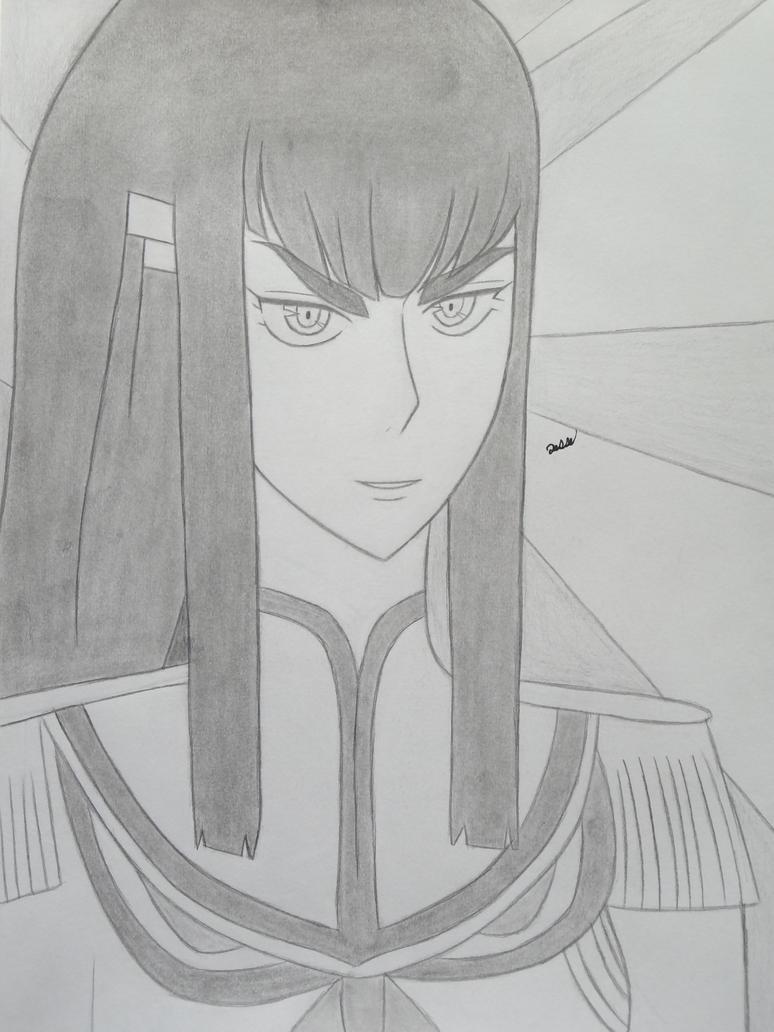 Satsuki's portrait by 112Tyranus