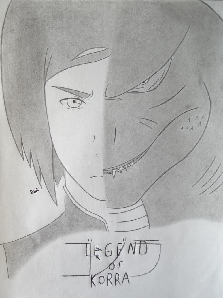 Legend Of Korra:Gojira cover art #3 by 112Tyranus