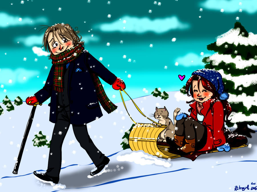 Le Rumbelle - Page 38 Rumbelle_in_the_snow_by_retrogrlfan-d9hvwc3