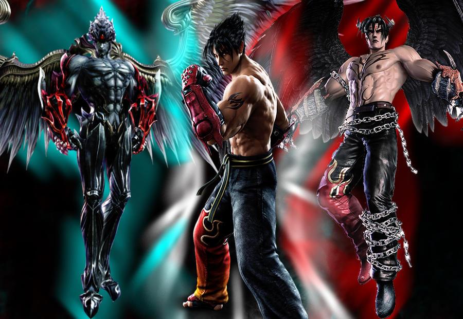 Unknown And Devil Kazuya By SilverCat Sama On DeviantArt