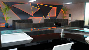 Reception Room Render 1