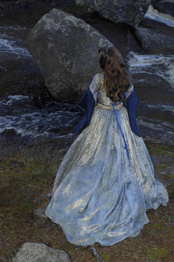 bw dress by VXLPhotography