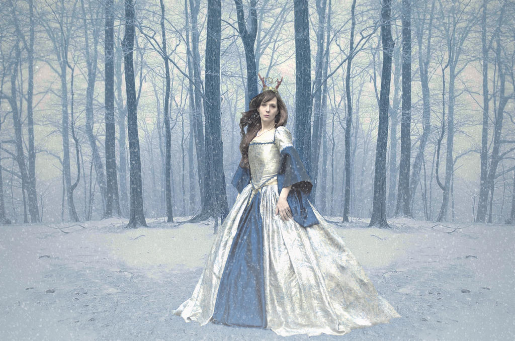 Snow Queen by VXLPhotography