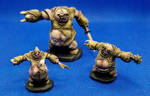Gutrags, Stitch Golem and Lesser Stitch Golems by Mshaylle