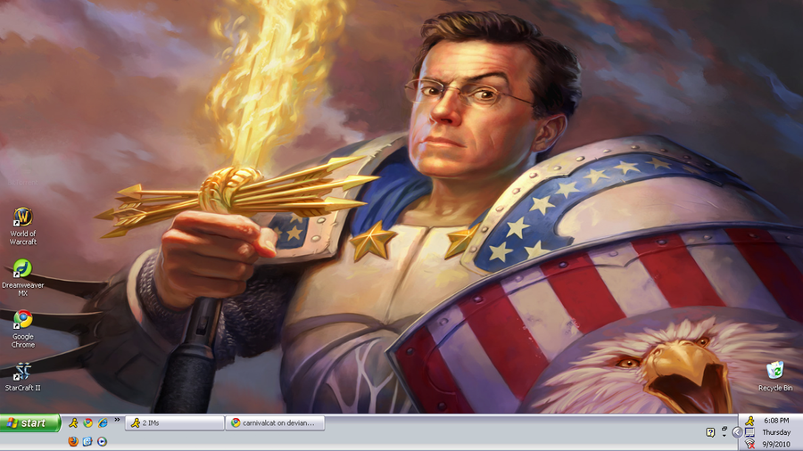 Captain Colbert by carnivalcat