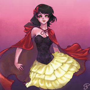 OEKAKI: Little Red Riding Hood by carnivalcat