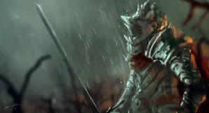 Knight Scene by Juhannuskostaja