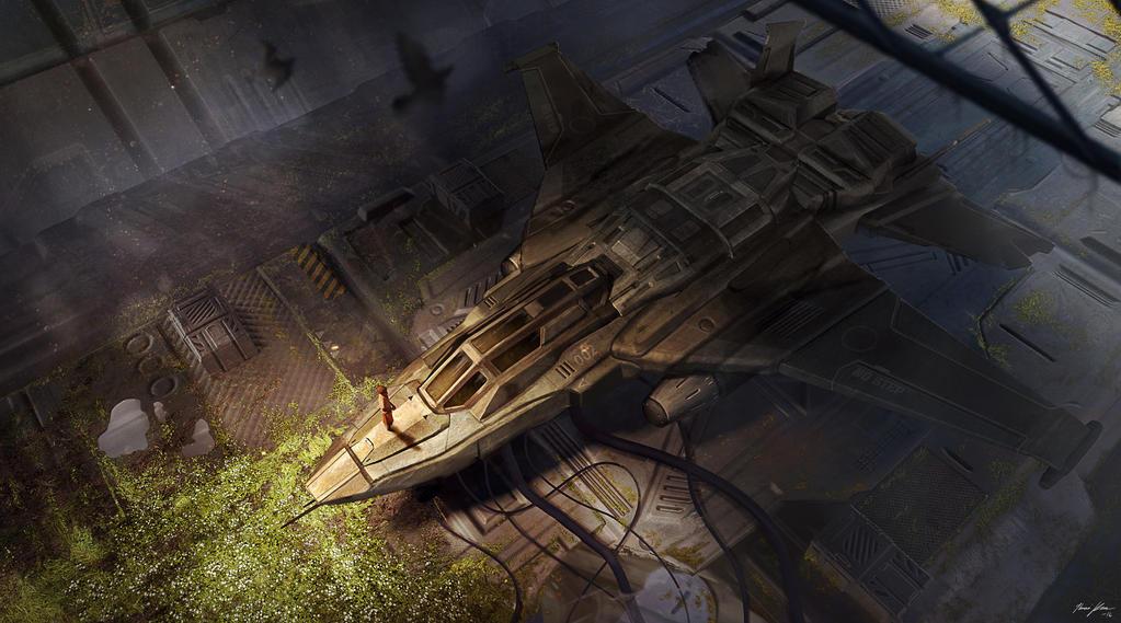 Forgotten Hangar by Juhannuskostaja