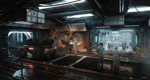 Robotics recycling factory