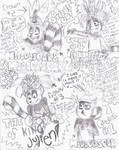 The Many Crowns of King Julien!!!