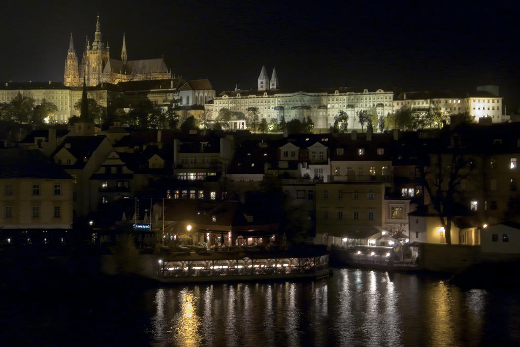 Prague by Night V by Hexaloner