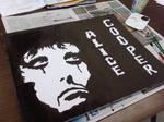 Alice Cooper stamp paint