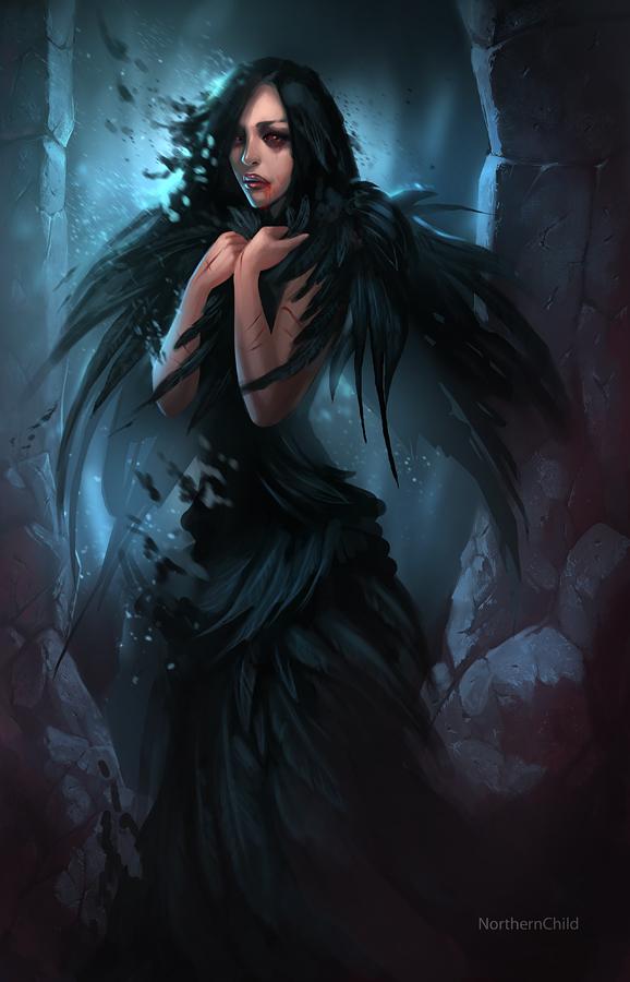 My Dying Bird by Vetrova
