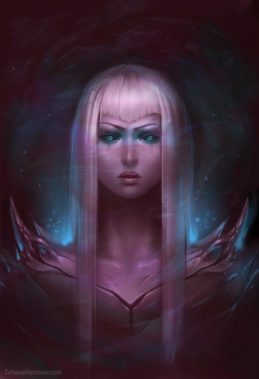 Violet Space by Vetrova