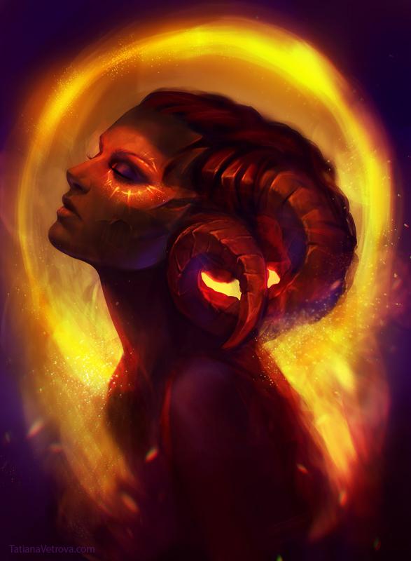 Golden dust by Vetrova