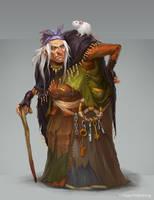 Granny Nan by Vetrova