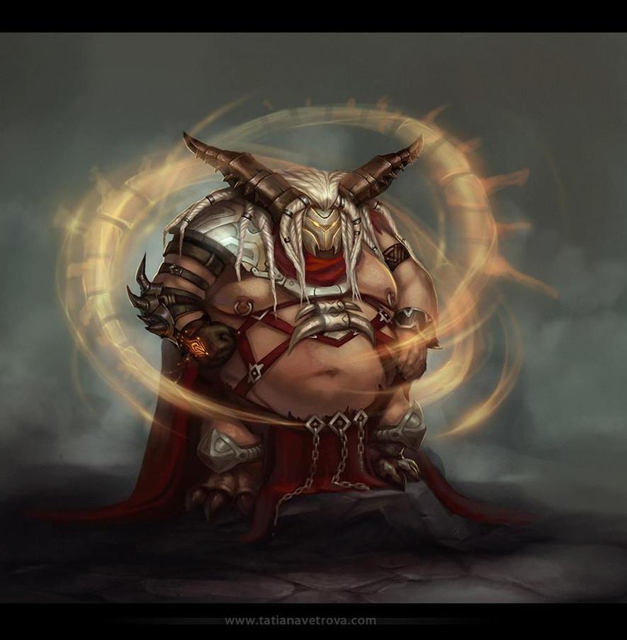 Fat boss by Vetrova