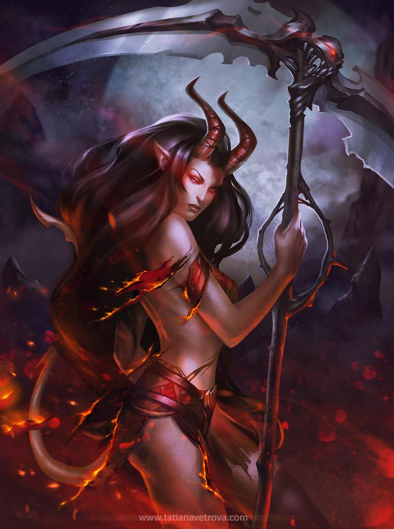 In Flames by Vetrova